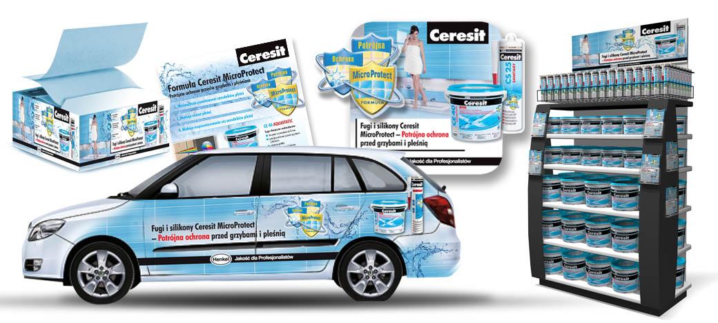 Promocja Ceresit CE40 - agencja reklamowa AXEL