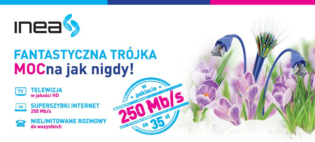 Promocja sprzedaży dla INEA - Agencja reklamowa AXEL